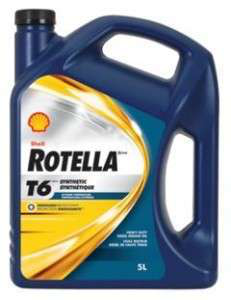 Synthetic oil for extreme cold for Shell rotella heavy duty motor oil
