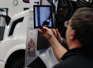 Volvo Trucks announced Thursday an initiative to place QR Codes on all new vehicles effective April of this year.