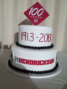 Hendrickson celebrated 100 years with a dinner Wednesday night.