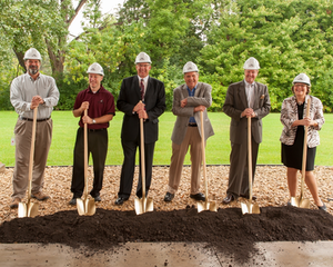 The groundbreaking ceremony was attended by Horton's Roseville employees; Horton, Inc. leadership including Hugh K. Schilling, chairman of the board, G. Henk Touw, president and CEO, Terry Gilberstadt, corporate secretary, and Chuck Bastien, test engineering and facilities manager; and the Bauer Design Build team of Mike Bauer, president, Craig Kohler, superintendent, and Brian Trombley, senior project manager.