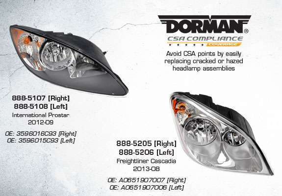 Dorman introduces new, 'formerly dealer only' headlights