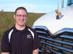 Mack Trucks recently awarded Nathaniel Chyle, a student enrolled in WyoTech's Diesel Advanced Technology Education (DATE) for Mack Trucks program in Blairsville, Pa., with a Mack Trucks DATE Scholarship.