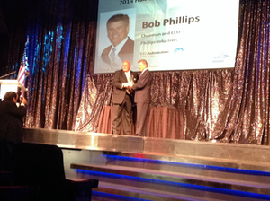 Bob Phillips inducted to Heavy Duty Aftermarket Hall of Fame