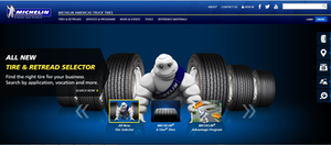 Michelin Truck Tires Homepage