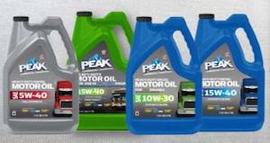 PEAK debuts new oils