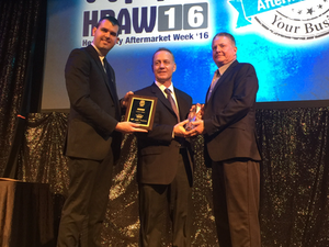 Sadler Power Train named Distributor of the Year