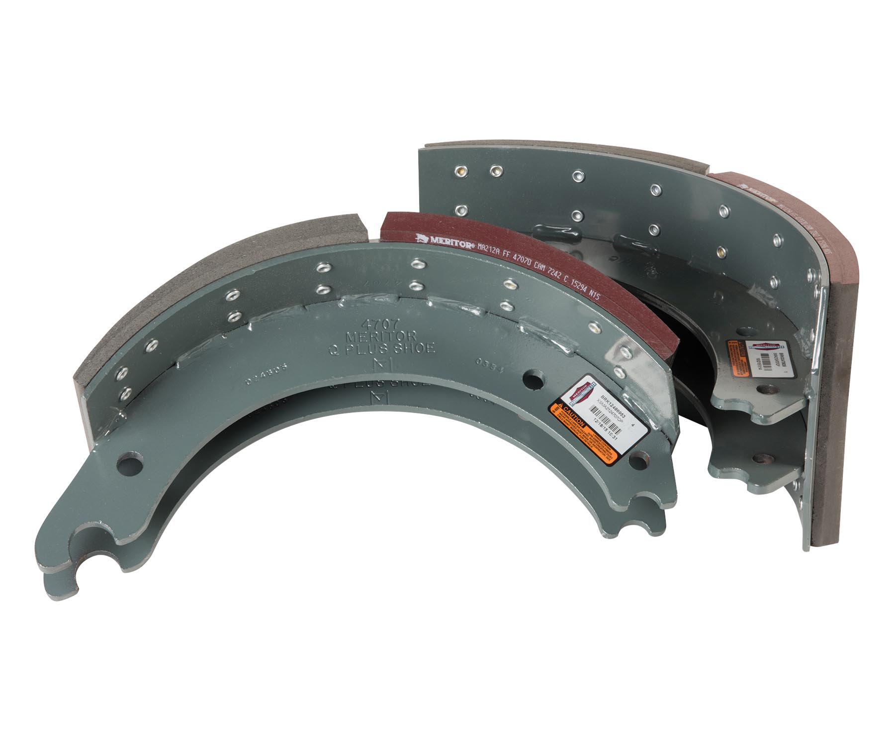Meritor launches third PlatinumShield brake shoe coating