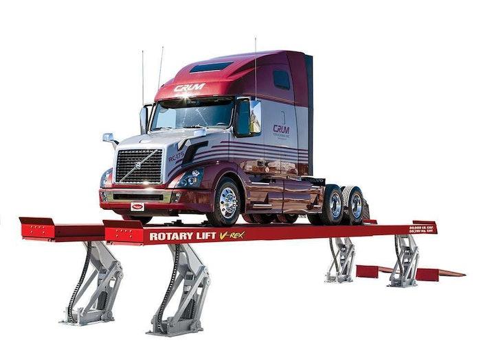 Rotary Lift VREX Truck