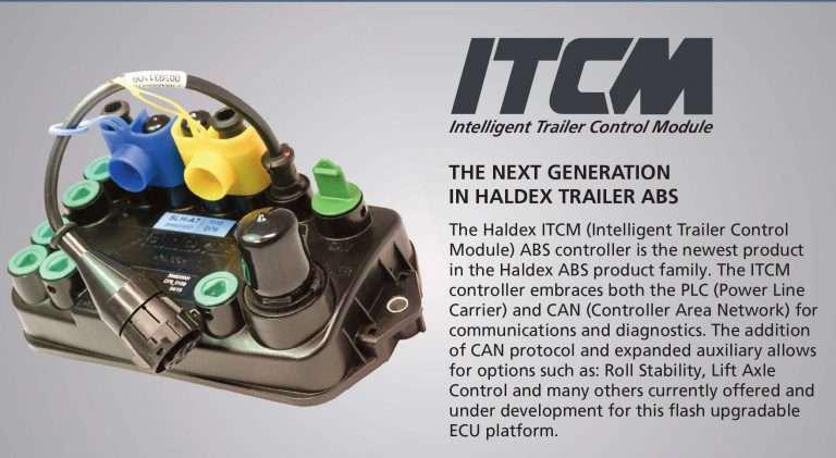 haldex presents its itcm for trailer abs systems. Black Bedroom Furniture Sets. Home Design Ideas