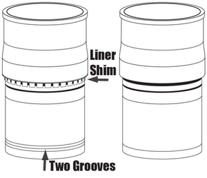 identifying engine liner parts