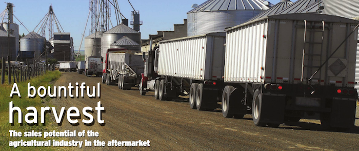 A bountiful harvest: The sales potential of the agriculture industry in the aftermarket