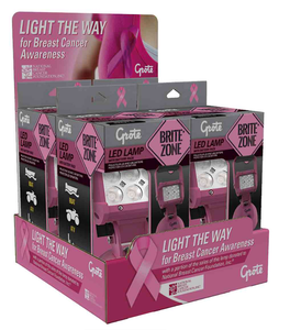 light the way for breast cancer awareness