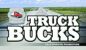 Walker Heavy Duty Truck Bucks