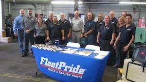 team members for fleet pride