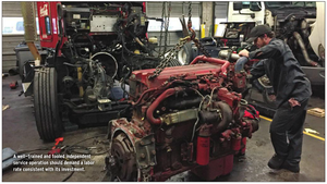 Don't be a commodity: Efficiency key for service department earnings