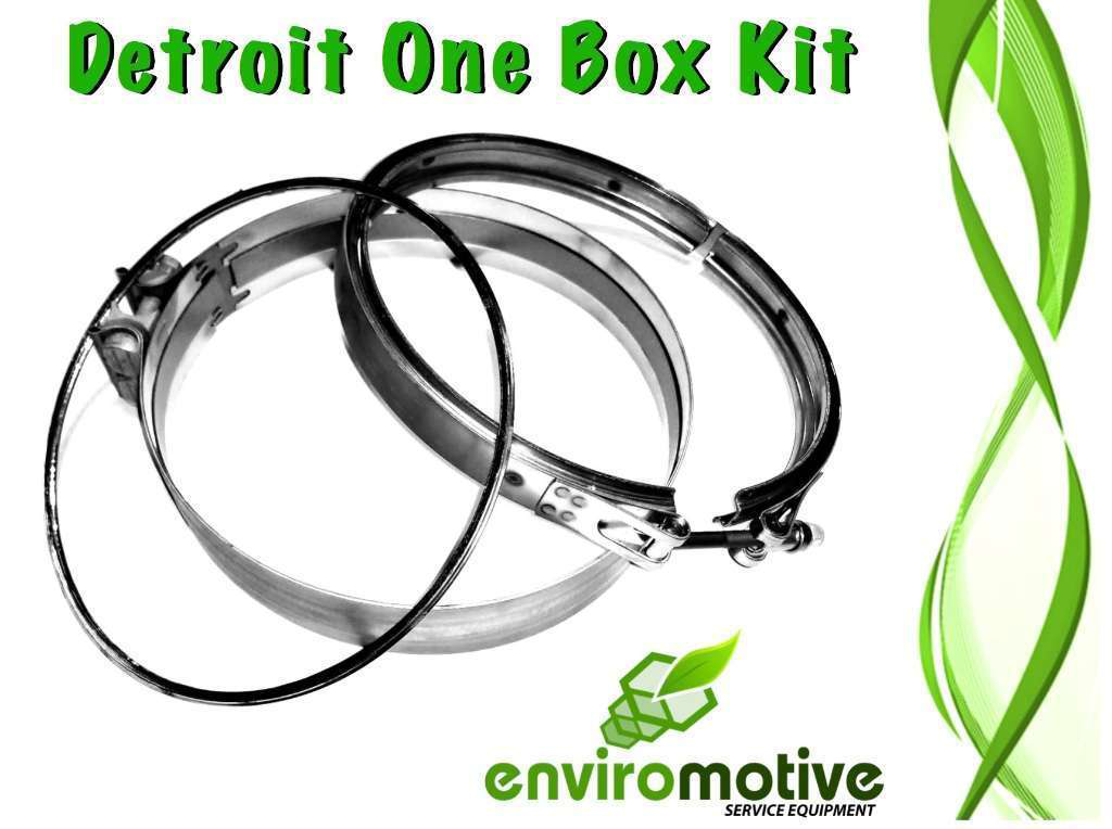 Enviromotive introduces one-box DPF clamp and gasket kit