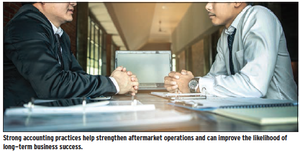 strong accounting practices