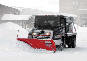 Western Products wide-out snowplow