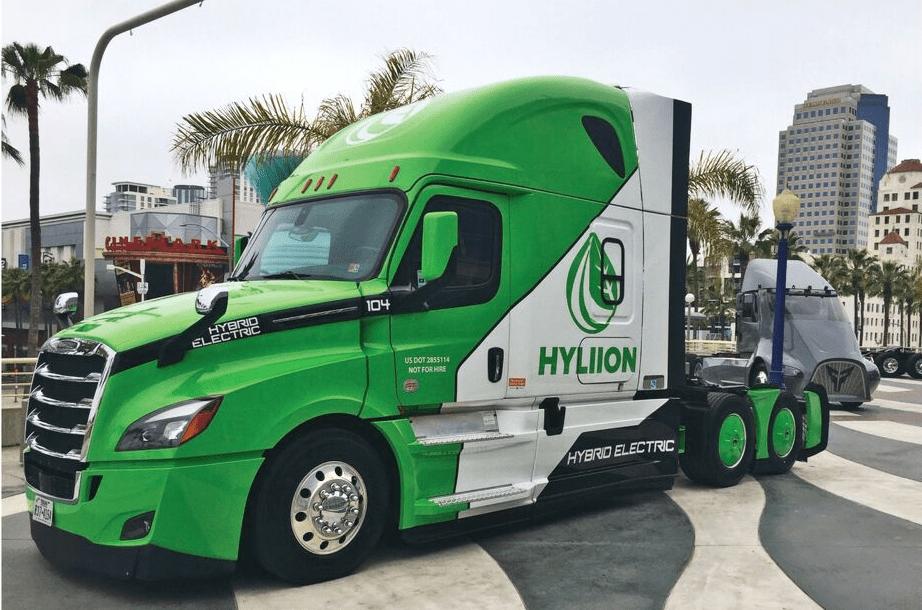 Hyliion's hybrid electric powertrain