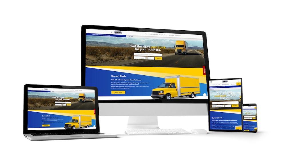 04.20.Penske used trucks website