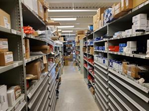 Rush Enterprises in San Antonio parts department