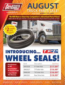 Allstate Peterbilt sales flyer