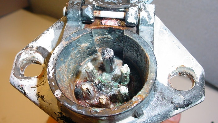 phillips industries socket with visible corrosion
