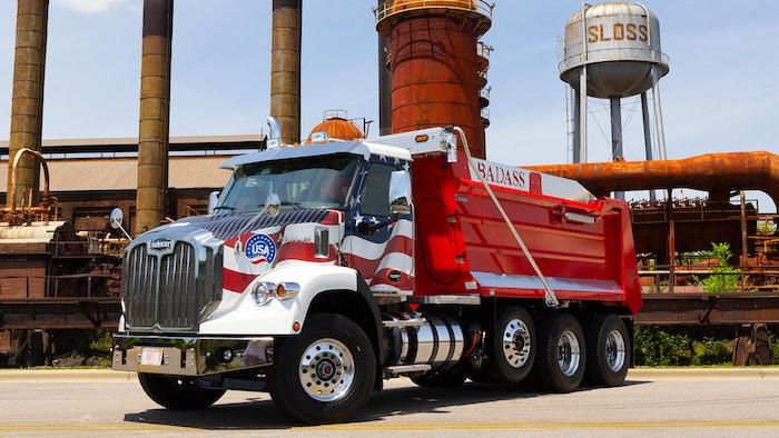 Autocar Dc64 D Dump Truck