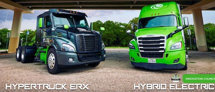 Hyliion Trucks