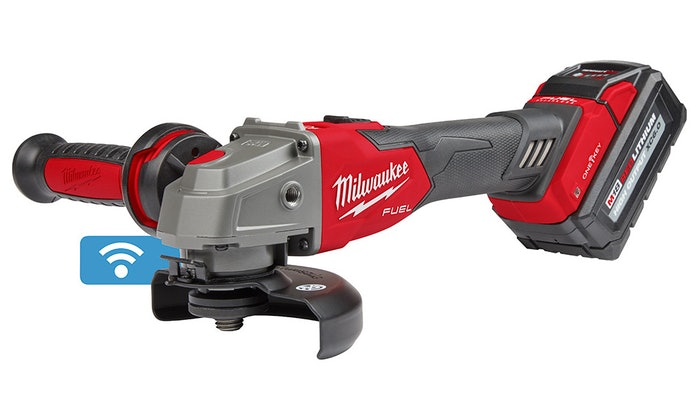 Milwaukee Tool launches new grinder.