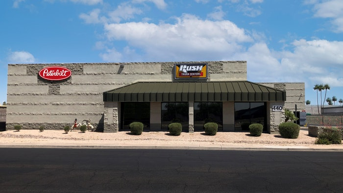 Rush Peterbilt Truck Center, Phoenix East, in Mesa, Ariz.