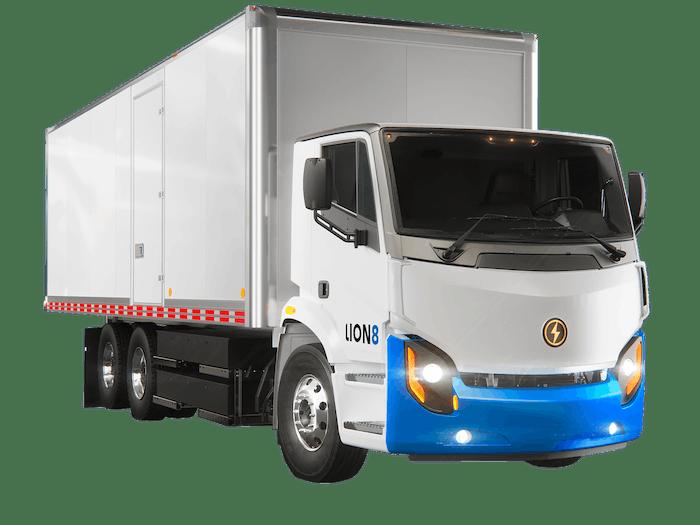 Lion Electric Box Truck