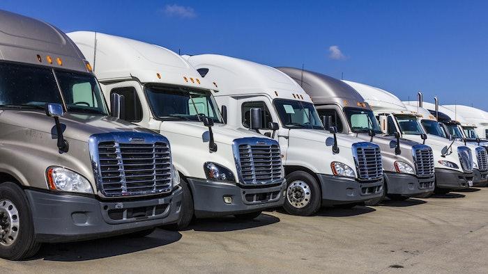 Shutterstock Trucks Parked