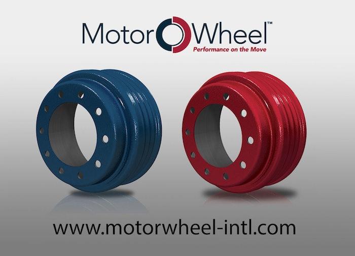 MotorWheel brake drums