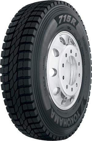 Yokohama Tire 715R with snow symbol