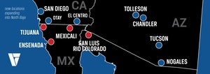 Velocity Vehicles Mexico has four locations south of the border