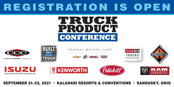 Truck Product Conference chassis list