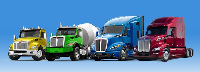 Paccar's 2021 full truck lineup