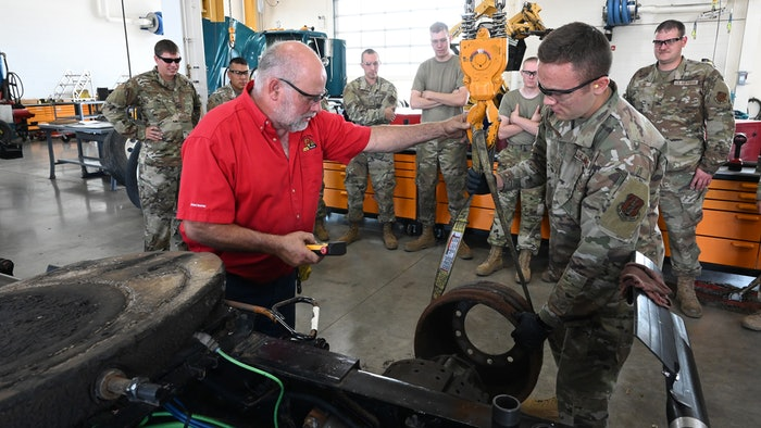 Air National Guard truck training