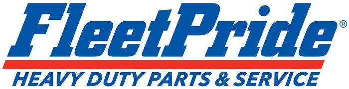 FleetPride's new logo and tagline