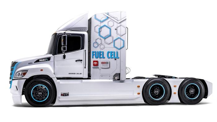 Hino Trucks' XL8 prototype truck
