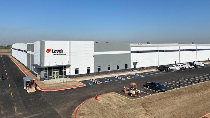 Love's Travel Stops new facility