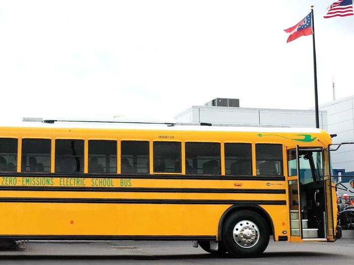 Blue Bird zero-emissions bus