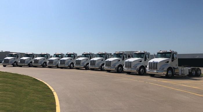 Peterbilt's 579EVs to Shippers Transport Express