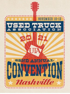 Used Truck Association convention logo