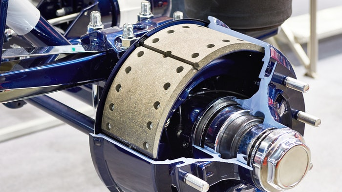 Wheel end with brakes