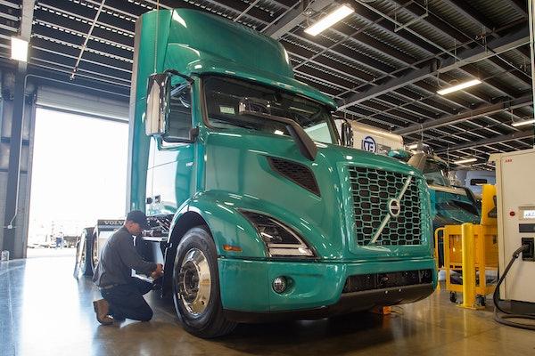 Volvo EV truck