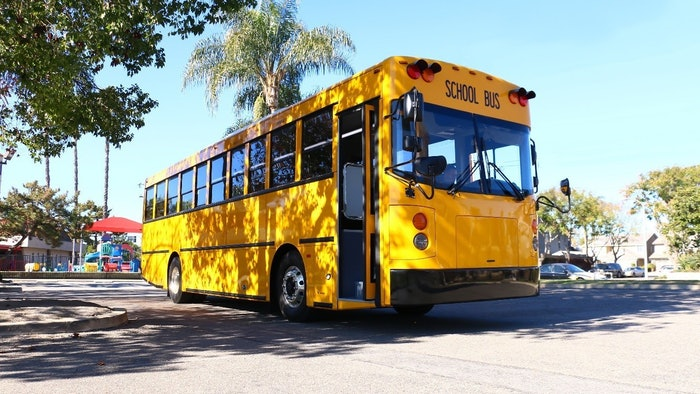 GreenPower Motor Company BEAST bus