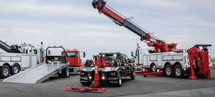 Jerr-Dan heavy vehicles