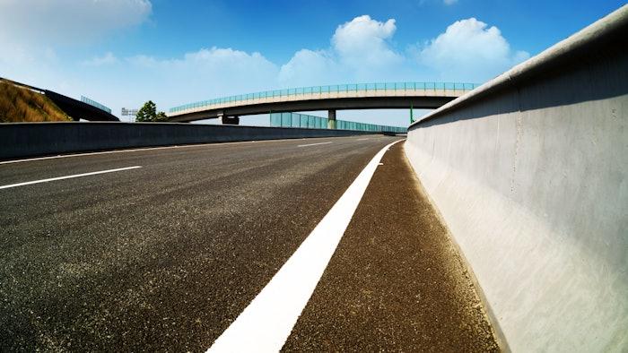 Open highway image